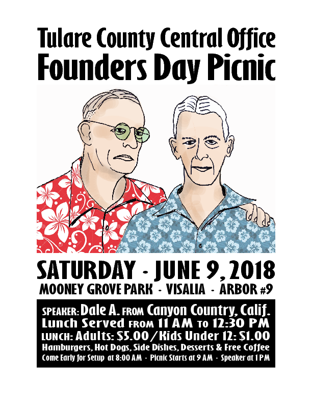 Central Office Picnic 2018 flyer