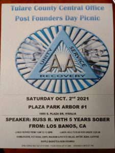 Post Founders Day Picnic @ Plaza Park Arbor #1